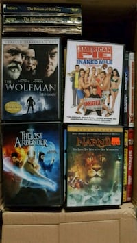 3 boxes of movies Edmonton, T5A 1W1