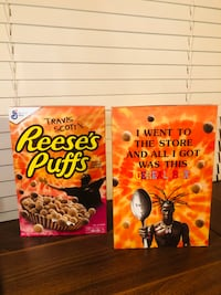 Travis Scott X Reese's Puff (RARE) sold out in stores*  Shipping - Yes Clarksburg, 20871
