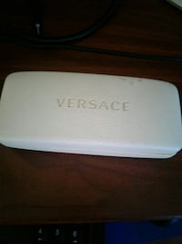 white Versace leather case Bowie, 20721