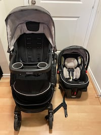 Stroller and Infant Car Seat Combo