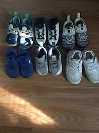 Toddler's six pairs of shoes Erie, 16507