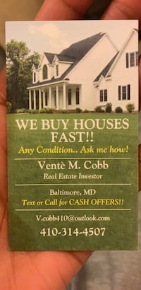 HOUSE For sale Baltimore