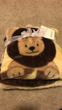Baby blanket - new- smoke and pet free home