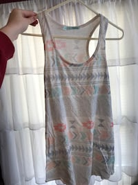 Medium rival pattern tank top