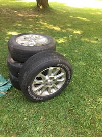 4 Firestone Destination LE summer tires with Ford rims Smith-Ennismore-Lakefield, K0L