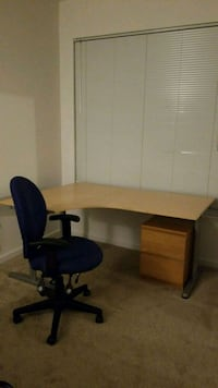Office Table, Office Chair, Cabinet Alexandria, 22312