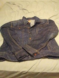 blue chambray button-up jacket London, N6A 2T9