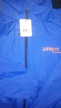 LOCAL 506 UNION LIUNA COAT BRAND NEW TAGS ON Lindsay, K9V