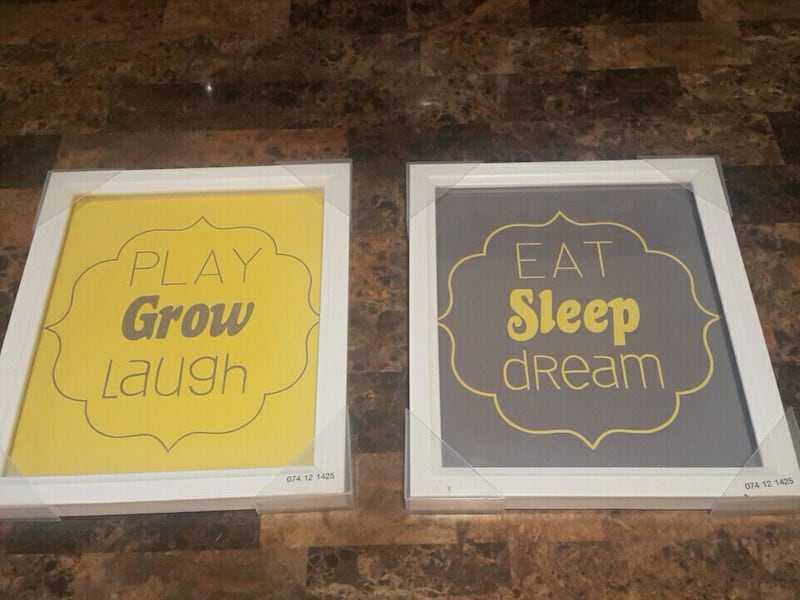 *NEW* 12X14 NURSERY WALL ART 04dd6ce1-1f24-407a-aaa1-4543d2f8a22d