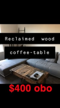 Final day!!Reclaimed wood coffee table Los Angeles, 90094