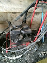 black and red pressure washer 317 mi