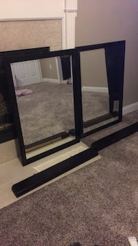 """matching mirrors with shelves 40"""" x 30"""" Monroeville, 08343"""
