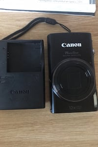 Canon PowerShot point and shoot camera