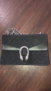 Gucci Black and gray leather wallet Burnaby, V3J 7C5