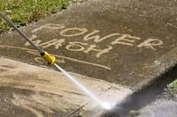 Pressure cleaning service call for detail