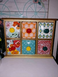 white and red floral wooden cabinet Norfolk, 23505