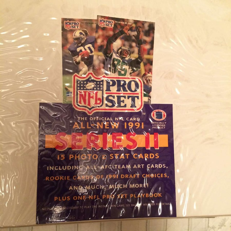football card collection lot