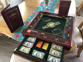 Monopoly Game Board, Collector's Edition