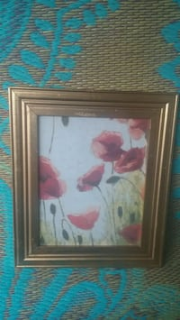 brown wooden framed painting of flowers Sparks, 89431