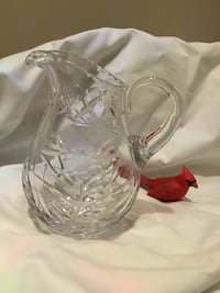 Hand cut clear pitcher Kitchener, N2H 2J2