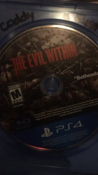Sony PS4 The Evil Within game disc Charlotte, 28212