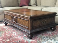 "Coffee table 32""x51""x18"" high Vienna, 22180"