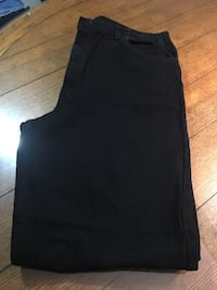 mens 40 x32 L 3 pairs all black  10 each  Harpers Ferry, 25425