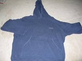 SISLEY BLUE HOODED SWEATSHIRT