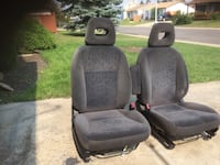 Black and gray car seat Edmonton, T5Y 2E1