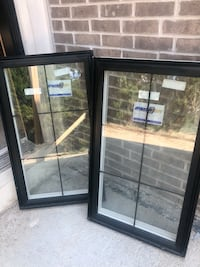 Two black vinyl windows Vaughan, L4J