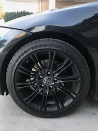 Bmw Rims on goodyear eagle f1s in great condition