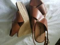 Brown Wedges Size 5 Vallejo, 94590