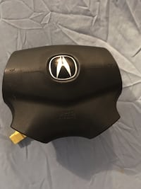 Acura TL airbag and steering wheel