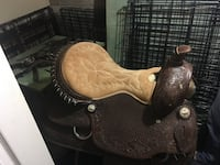 brown and beige leather horse saddle Kingston, K7M 8L8