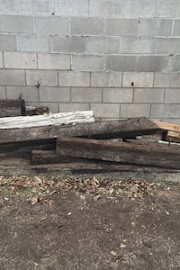 Free railroad ties and wood