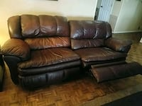 Leather reclining couch Albuquerque, 87114