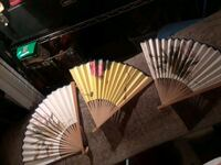 Old hand-painted fans Ringgold, 30736