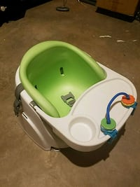 baby's green and white floor seat Fairfax, 22030