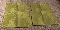4 Green placemats Calgary, T2Z 1A3