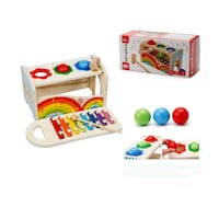 Brand new knocked ball with xylophone