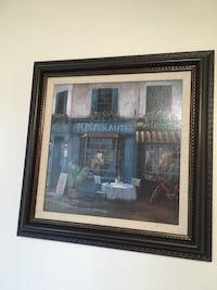 brown wooden framed painting of house Gresham, 97230