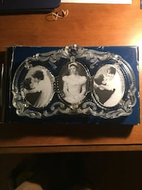 Crystal picture frame, new Saint Clair, 17970