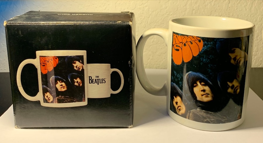 Photo The Beatles- Rubber Soul 12oz Coffee Mug With Original Packaging