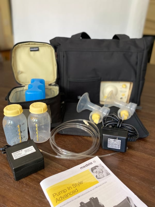 Used Medela Pump In Style Advanced With On The Go Tote For Sale In Santa Ana Letgo