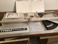 Trim Tramp Sliding Compound Miter SawTable
