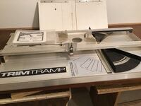 Trim Tramp Sliding Compound Miter SawTable Toronto, M9V 2H9