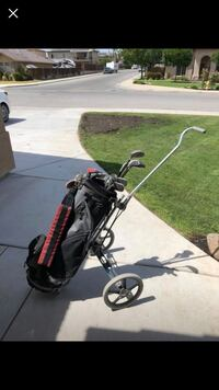 black and gray golf bag trolley Bakersfield, 93304