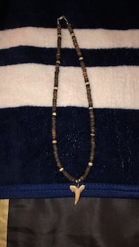 black and brown beaded necklace Struthers, 44471