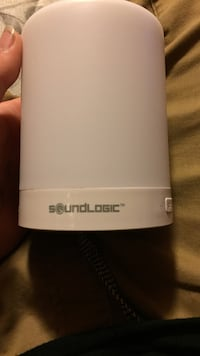 white and black Samsung portable speaker Houma, 70360