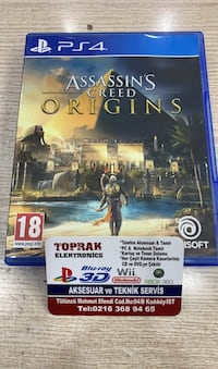 PS4 ASSASİNS CREED ORİGİNS Kadıköy, 34730